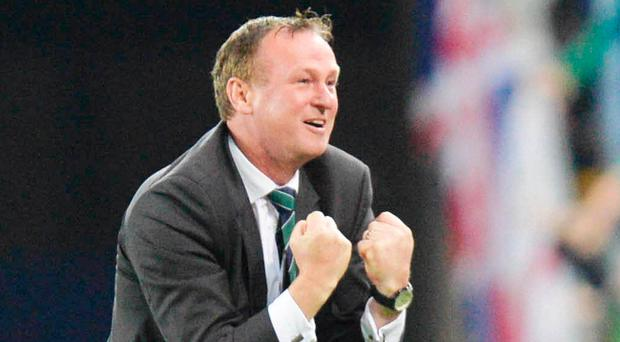 No regrets: Northern Ireland manager Michael O'Neill has told his players to embrace tonight's World Cup qualifying play-off against Switzerland