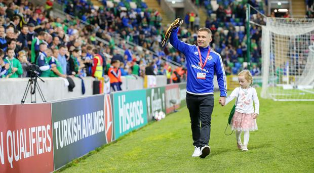 Carl Frampton wants the GAWA to help make sure Northern Ireland are celebrating this weekend.
