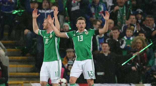 Northern Ireland's Corry Evans. Picture by Brian Little/PressEye