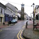 The centre of Ballymoney