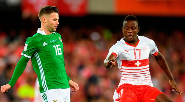 Swiss scrape into World Cup with 0-0 draw against Northern Ireland