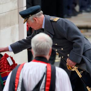 LONDON, ENGLAND - NOVEMBER 12: Prince Charles, Prince of Wales during the annual Remembrance Sunday memorial on November 12, 2017 in London, England. The Prince of Wales, senior politicians, including the British Prime Minister and representatives from the armed forces pay tribute to those who have suffered or died at war. (Photo by Chris Jackson/Getty Images)