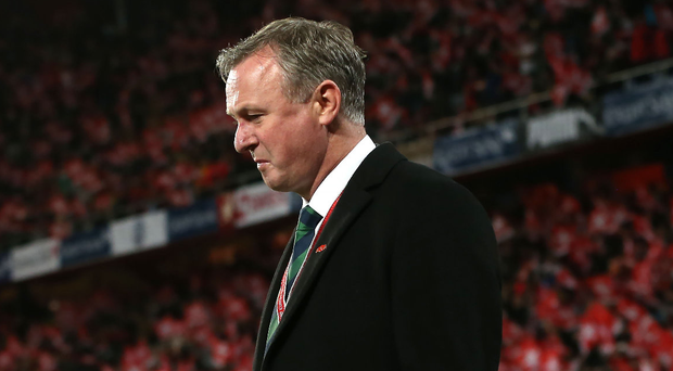 End of an era: Michael O'Neill could leave his role as manager of Northern Ireland if a big name club comes calling for him