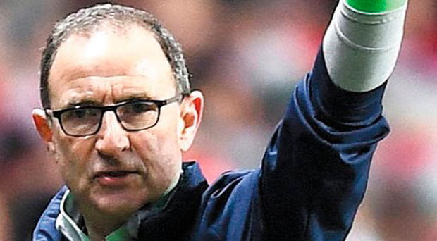 Only way is up: Martin O'Neill is aiming for an historic win in Dublin