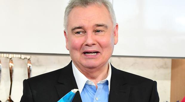 Pictured: Eamonn Holmes, who has pipped Susanna Reid, Piers Morgan and Dan Walker in a poll of the best breakfast show hosts of all time. (Ian West/PA Wire)