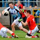 Special feeling: Sean Cavanagh, here in action for Moy, says he can now relate to the bond club action can bring