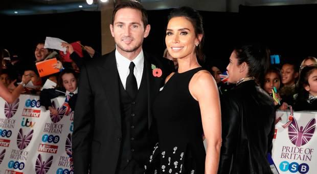 Pictured: Frank and Christine Lampard.
