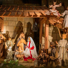 A traditional Nativity scene