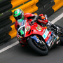 Reel Macau: Glenn Irwin in action at Fisherman's Bend during the first practice session in Macau