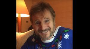 Liam Neeson shows his support for the NI Children's Hospice.