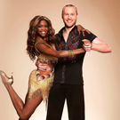 Jonnie Peacock and his professional dance partner Oti Mabuse