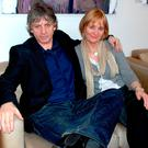 Bap Kennedy with his wife Brenda, who has praised the new record