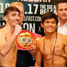 Big night: Jamie Conlan will be challenging Filipino Jerwin Ancajas for the IBF World Super-Flyweight title