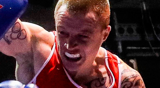 Explosive: Steven Donnelly is through to the Elite final