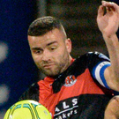 Feeling good: Crusaders skipper Colin Coates