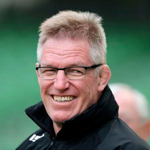 Cash plea: Fiji's head coach John McKee