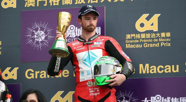 Macau GP: Dan Hegarty dies after crash