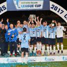 Ballymena United won last year's competition.