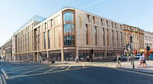 Plans for the new Maldron Hotel in Newcastle