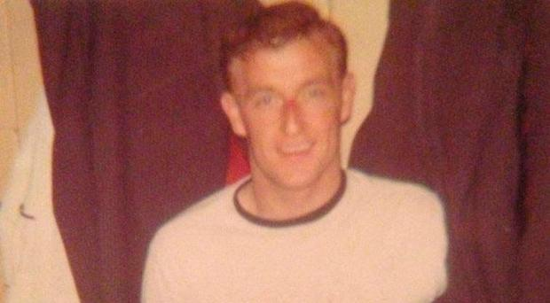 Sailortown footballer Jimmy Hasty, who was shot dead by loyalists in 1974