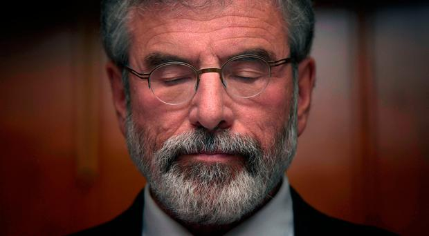 Gerry Adams now