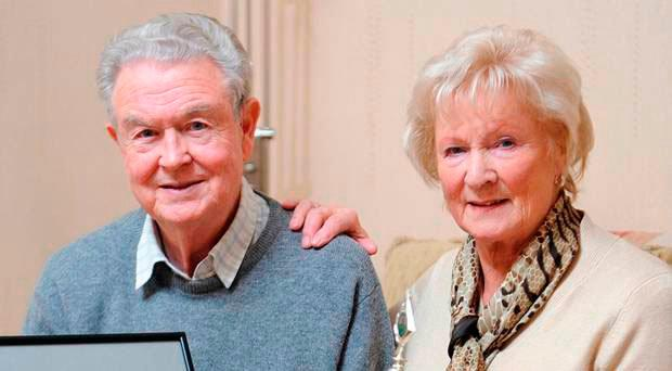 Michael O'Neill's parents Des and the late Patricia
