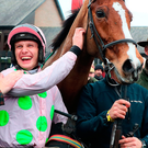 All smiles: winning jockey Paul Townend with Faugheen
