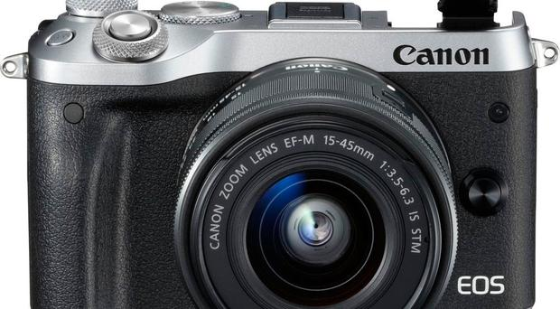 The Canon EOS M6 makes up for a lack of viewfinder by allowing its touchscreen to flip over the top of the camera
