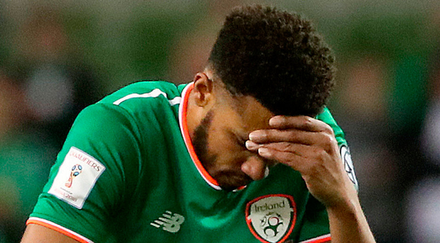 Painful experience: Cyrus Christie