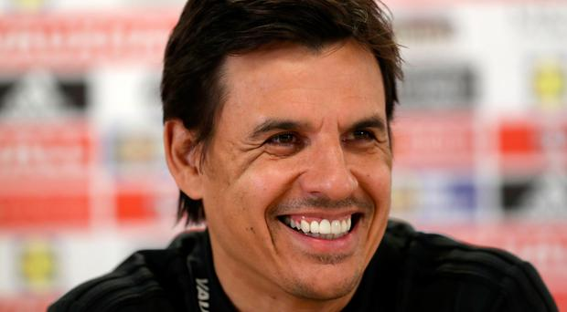 New challenge: Chris Coleman can't wait to get started