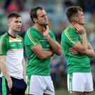 Down and out: Ireland stars react to their loss to Australia