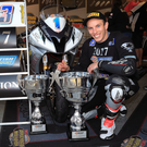 Raring to go: Supersport king Keith Farmer is joining Tyco BMW