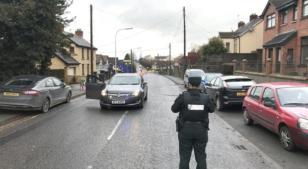 PACEMAKER BELFAST 21/11/2017 Police are dealing with a security alert in Ballynahinch. Cordons are in place and ATO have been tasked to the scene. Lisburn Street has been closed at the Mackraknock junction. There are no further details at this time