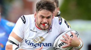 Clear aim: Clive Ross is hoping to earn more game time