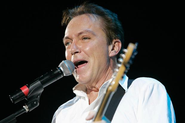 American singer and songwriter David Cassidy, who has died aged 67, performing in concert at the Hammersmith Apollo in London. (PA/PA Wire)