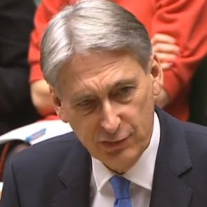 Philip Hammond delivers the Budget (PA)