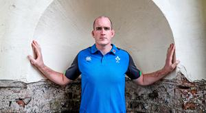 Fine fettle: Devin Toner says he is feeling physically better than he did last year