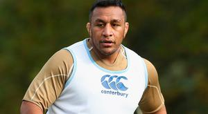 Gesture: Mako Vunipola had proposed helping Samoa