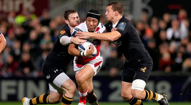 Class act: Christian Leali'ifano wants to ensure Ulster are in good shape when his short stay ends in January