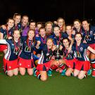 High achievers: Ballyclare High School celebrate their win over Rainey Endowed in the Super League Finals