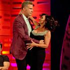 Will Ferrell and Shirley Ballas during the filming of the Graham Norton Show (PA Images on behalf of So TV)