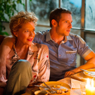 Generation gap: Annette Bening as Gloria Grahame and Jamie Bell as Peter Turner