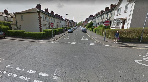 The incident happened in the Stranmillis Gardens area. Pic Google Maps