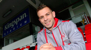 Calm before the storm: Paul Marshall at Kingspan Stadium ahead of tonight's clash with Benetton