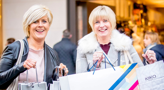 Belfast shoppers Jackie Muldoon and Nuala Murray