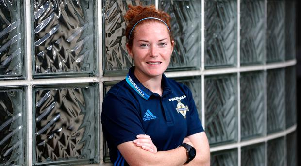 Raring to go: Northern Ireland skipper Marissa Callaghan