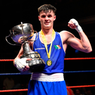 Pure class: James McGivern after his victory last night