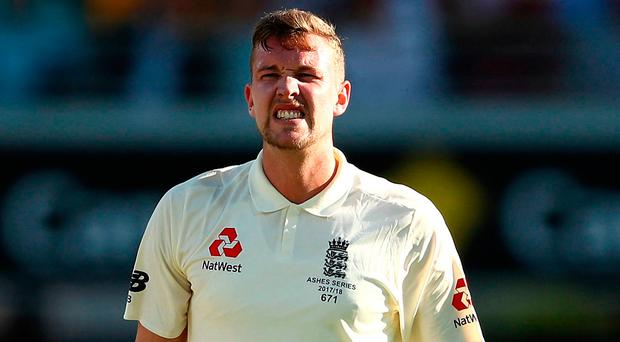 Satisfied: Jake Ball is happy with England's progress