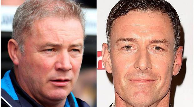 Ally McCoist and Chris Sutton went head to head on BT Sport.