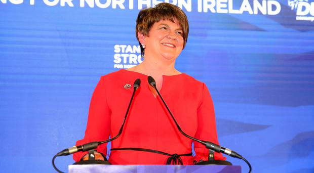 PressEye - Belfast - Northern Ireland - 25th November 2017 Pictured: DUP Leader, Arlene Foster. Picture: PressEye / Philip Magowan
